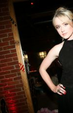 Kathryn Newton Attending the Chrome Hearts Dinner Party