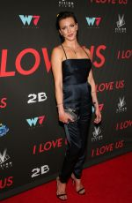 """Katie Cassidy Attends the premiere of """"I Love Us"""" at Harmony Gold in Los Angeles"""