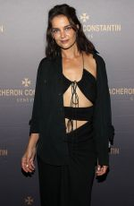 Katie Holmes At Vacheron Constantin Flagship Grand Opening in NYC