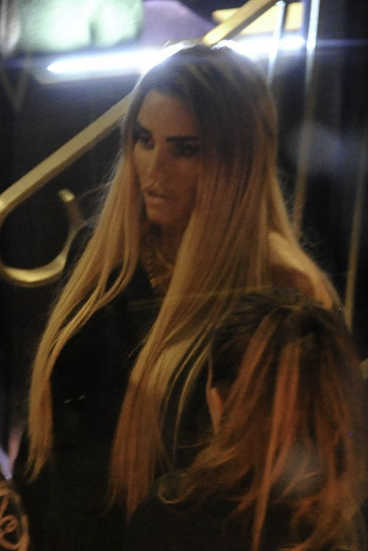 Katie Price Pictured during a makeup Masterclass in Manchester