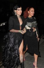 Kehlani & Jorja Smith Seen at British Vogue and Tiffany & Co celebrate Fashion and Film at the Londoner Hotel in Leicester Square
