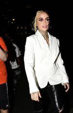Kehlani Rocks a customized outfit as she is pictured leaving Saks party in Downtown New York
