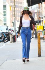 Kendall Jenner Keeps it casual in denim as she steps out for Sunday lunch in New York