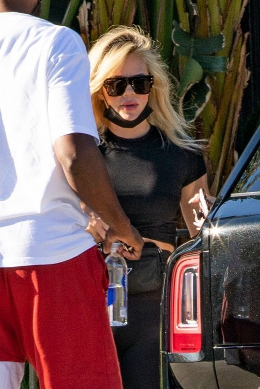 Khloe Kardashian Spotted at her daughter