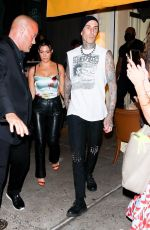 Kourtney Kardashian Step out for a post-VMA dinner in New York