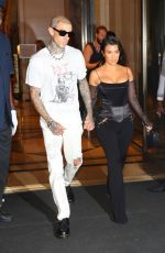 Kourtney Kardashian Steps out for a night out in New York