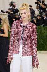 Kristen Stewart Attends The 2021 Met Gala Celebrating In America: A Lexicon Of Fashion