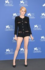 """Kristen Stewart Attends the photocall of """"Dune"""" during the 78th Venice International Film Festival in Venice, Italy"""
