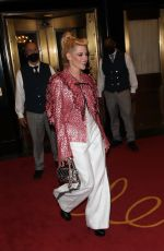Kristen Stewart Exits her hotel and heads to the Met gala in New York