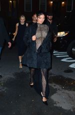 Kylie Jenner Attends a birthday party at Lucali with sister Kendall and friends in New York