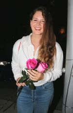 Lana Del Rey Seen on canon drive after a visit to the dentist to fix a chipped tooth in Avalon