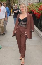 Liberty Poole Exits the star studded TRIC Awards in London
