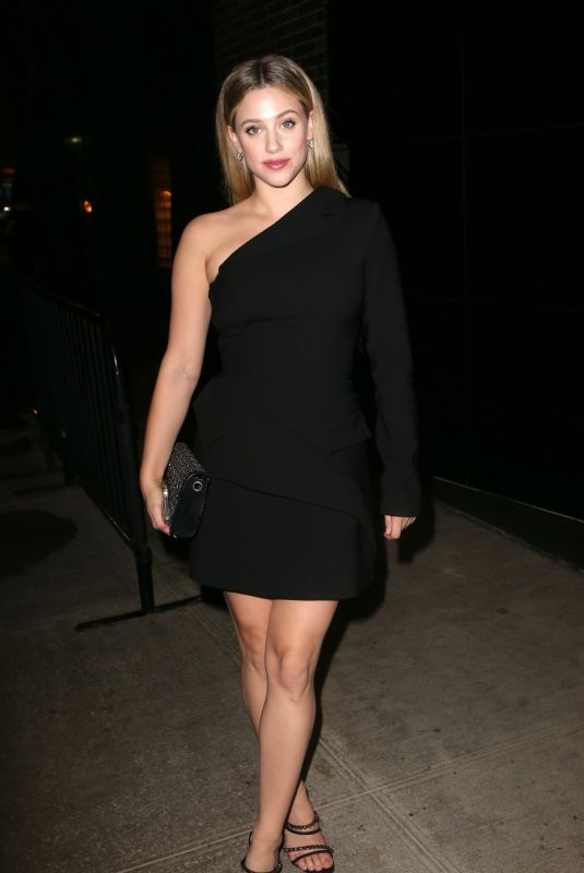 Lili Reinhart Attends the Met Gala after-party in New York
