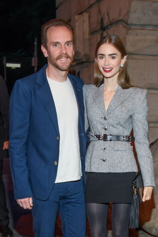Lily Collins At the Cartier Clash dinner in Berlin