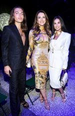 Liz Hurley At Versace Special Event during the Milan Fashion Week