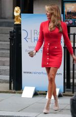 Lizzie Cundy Arriving at the upmarket Law Society in London