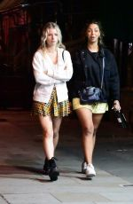 Lottie Moss On a night out in Notting Hill