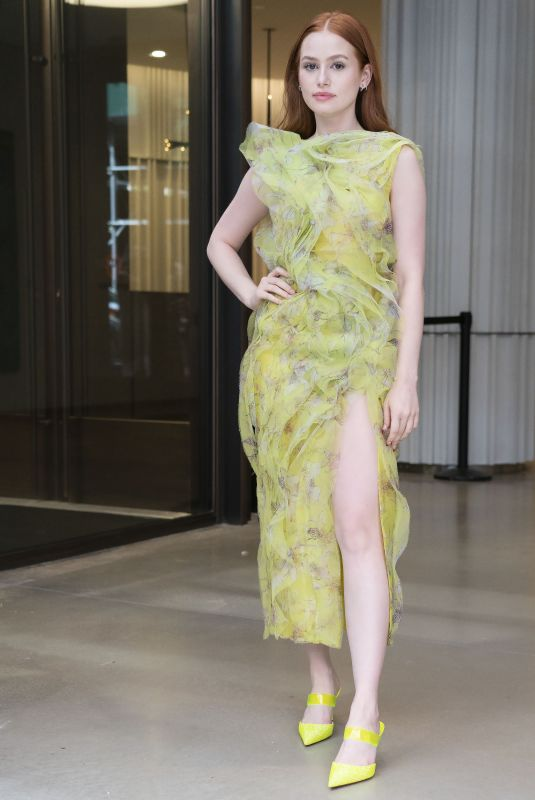 Madelaine Petsch Arrives at Jason Wu Fashion Show in New York