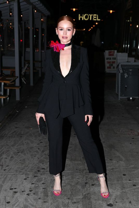 Madelaine Petsch At Prabal Gurung Fashion Show in NY