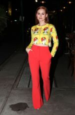 Madelaine Petsch Attending the Moschino Dinner in NY