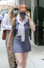 Madelaine Petsch Out in NYC