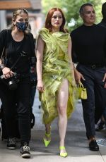 Madelaine Petsch Seen outside the Jason Wu show in New York