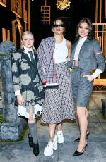 Maisie Williams At Thom Browne Fashion Show in New York