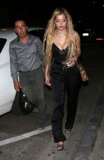 Mandana Bolourchi Heads out for dinner at Catch Restaurant in West Hollywood