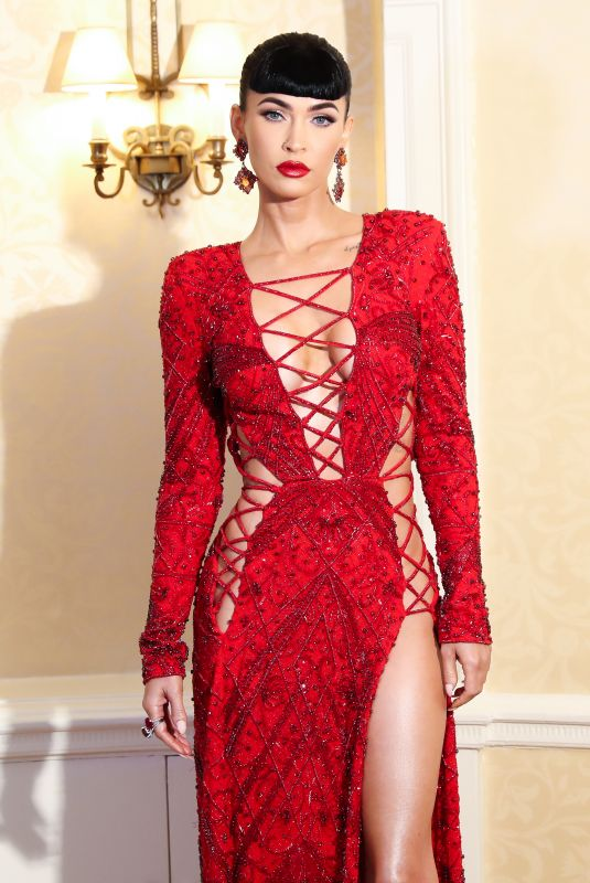 Megan Fox Guests of DUNDAS x REVOLVE Met Gala Table Departures at The Pierre in New York City