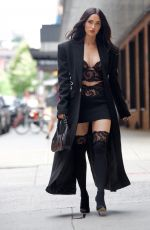 Megan Fox Heads to a fitting in new York