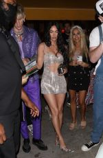 Megan Fox Steps out for a post-VMA dinner in New York