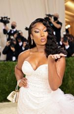 Megan Thee Stallion Attends The Met Gala Celebrating In America: A Lexicon Of Fashion at Metropolitan Museum of Art in New York City