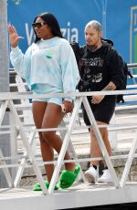 Megan Thee Stallion Leaves from Venice airport
