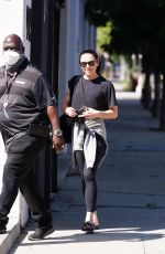 Melanie Chisholm Seen at the Dancing With The Stars rehearsal studio in Los Angeles
