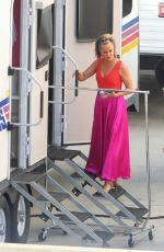 Melora Hardin Pictured ahead of the filming of Dancing With The Stars in Los Angeles