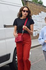 Minnie Driver Shopping for Antiques on the Golborne Road in Notting Hill