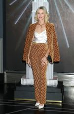 Naomi Watts Attending a New York Fashion Week event at the Empire State Building