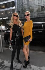 Nicky Hilton & Paris Hilton Arrive at the Revolve Party in New York