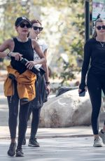 Nicole Richie & Sofia Richie Spotted out on a hike in Santa Monica