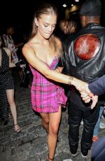 Nina Agdal Attending the Met Gala after-party in New York