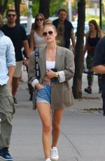 Nina Agdal Out in New York