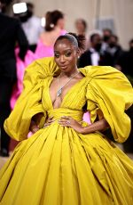 Normani Attends the 2021 Met Gala in New York