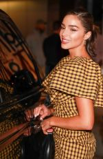 Olivia Culpo Arrives for dinner with her sister Sophia Culpo at Craig