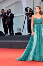 """Olivia Culpo Attends the red carpet of the movie """"America Latina"""" during the Film Festival in Venice, Italy"""