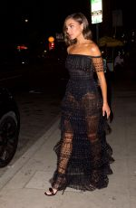 Olivia Culpo Leaves dinner in West Hollywood