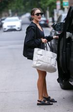 Olivia Culpo Leaving a pilates class in West Hollywood