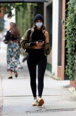 Olivia Culpo Out for a workout in West Hollywood