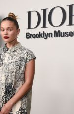 Olivia Holt At Christian Dior: Designer of Dreams Exhibition in New York