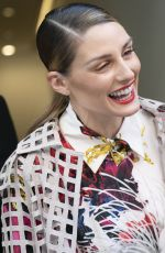 Olivia Palermo Arrives at Jason Wu Fashion Show in New York