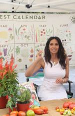 Padma Lakshmi At Book signing for her book Tomatoes for Neela at the Union Square Greenmarket